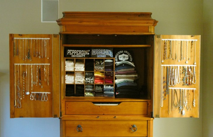 New Use for an Old Armoire